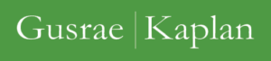 Gusrae Kaplan Litigation logo